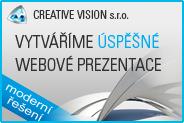 Creative Vision– úspěšné webové prezentace